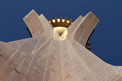 Monumento di Mekele in Etiopia fotografia stock