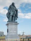 Monumento di Michiel de Ruyter in Vlissingen, Paesi Bassi immagine stock libera da diritti