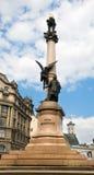 Monumento di Mickiewicz a Lviv Fotografia Stock Libera da Diritti