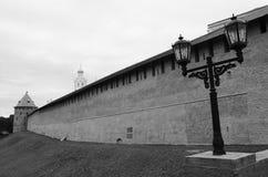 Monumento di millennio - Cremlino di Novgorod fotografia stock libera da diritti
