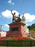 Monumento di Mininu e di Pozharsky Immagine Stock