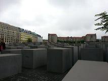 Monumento di olocausto a Berlino Immagini Stock