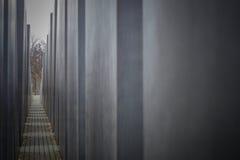 Monumento di olocausto a Berlino, Germania Immagine Stock Libera da Diritti