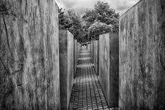 Monumento di olocausto di Berlino Immagine Stock Libera da Diritti