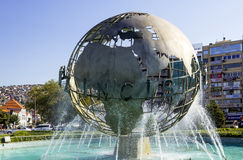 Monumento di pace di mondo Fotografia Stock Libera da Diritti