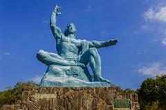 Monumento di pace di Nagasaki immagine stock libera da diritti
