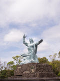 Monumento di pace di Nagasaki immagini stock