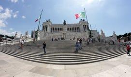 Monumento di Patria di della di Altare a Roma Immagini Stock