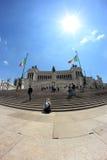 Monumento di Patria di della di Altare a Roma Fotografia Stock
