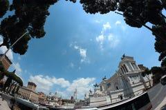 Monumento di Patria di della di Altare a Roma Immagine Stock