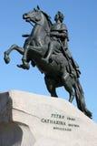 Monumento di Peter I Fotografia Stock Libera da Diritti