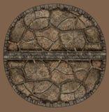 Monumento di pietra illustrazione vettoriale