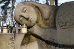 Monumento di pietra Immagini Stock Libere da Diritti