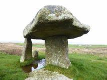 Monumento di pietra antico Fotografie Stock