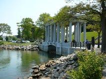 Monumento di Plymouth Rock Fotografia Stock