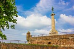 Monumento di Pobednik fotografia stock libera da diritti