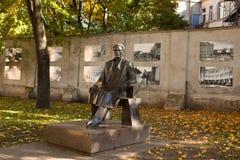 Monumento di presidente Kazys Grinius Immagini Stock Libere da Diritti