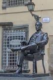 Monumento di Puccini Fotografie Stock