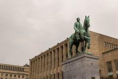 Monumento di re Albert Fotografia Stock Libera da Diritti