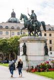 Monumento di re Ludwig I Immagine Stock