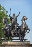 Monumento di ribellione di Boudiccan a Londra Fotografia Stock Libera da Diritti