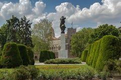 Monumento di ringraziamento in Francia, Belgrado fotografia stock