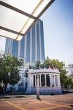 Monumento di Rotonda della La a Malecon Simon Bolivar Guaya Immagini Stock Libere da Diritti