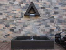 Monumento di Sandro Pertini a Milano Fotografia Stock