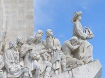 Monumento di scoperte di Lisbona Fotografie Stock