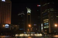 Monumento di Selamat Datang, Jakarta fotografia stock