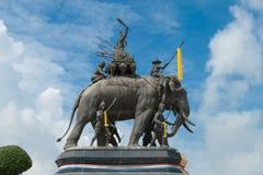 Monumento di Srisuriyothai Immagine Stock Libera da Diritti
