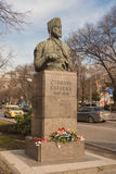 Monumento di Stefan Karadja a Varna, Bulgaria Fotografia Stock Libera da Diritti