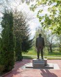 Monumento di Todor Zhivkov Fotografie Stock