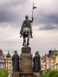 Monumento di Venceslas Immagini Stock Libere da Diritti
