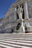Monumento di Vittorio Emanuele II o altare della patria nel quadrato di Venezia Immagine Stock Libera da Diritti