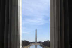 Monumento di Washington Immagine Stock