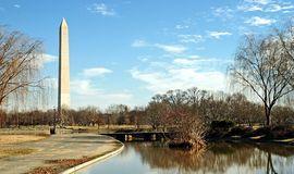 Monumento di Washington - 2 Fotografie Stock Libere da Diritti