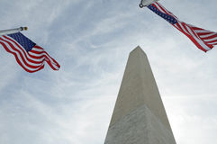 Monumento di Washington Fotografie Stock