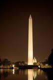 Monumento di Washington - viale nazionale Fotografia Stock Libera da Diritti