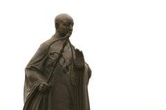 Monumento di Xuan Zang a Xian, Cina immagine stock libera da diritti
