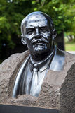 Monumento do busto de Lenin Imagens de Stock