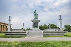 Monumento do confederado da guerra civil fotos de stock