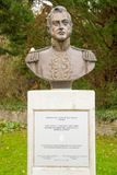 Monumento do general Don José de San MartÃn Foto de Stock