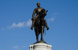 Monumento do general Robert E lee imagens de stock royalty free