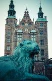 Monumento do guardião de Copenhaga foto de stock
