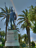 Monumento do guerreiro Fotografia de Stock Royalty Free