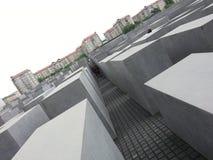 Monumento do holocausto em Berlim Imagem de Stock Royalty Free