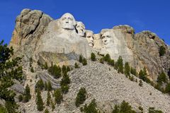 Monumento do Monte Rushmore Foto de Stock Royalty Free