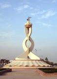 Monumento do Oryx de Doha Qatar Imagens de Stock