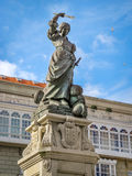 Monumento do pão árabe de Maria Mayor Fernandez de Camara y Fotos de Stock